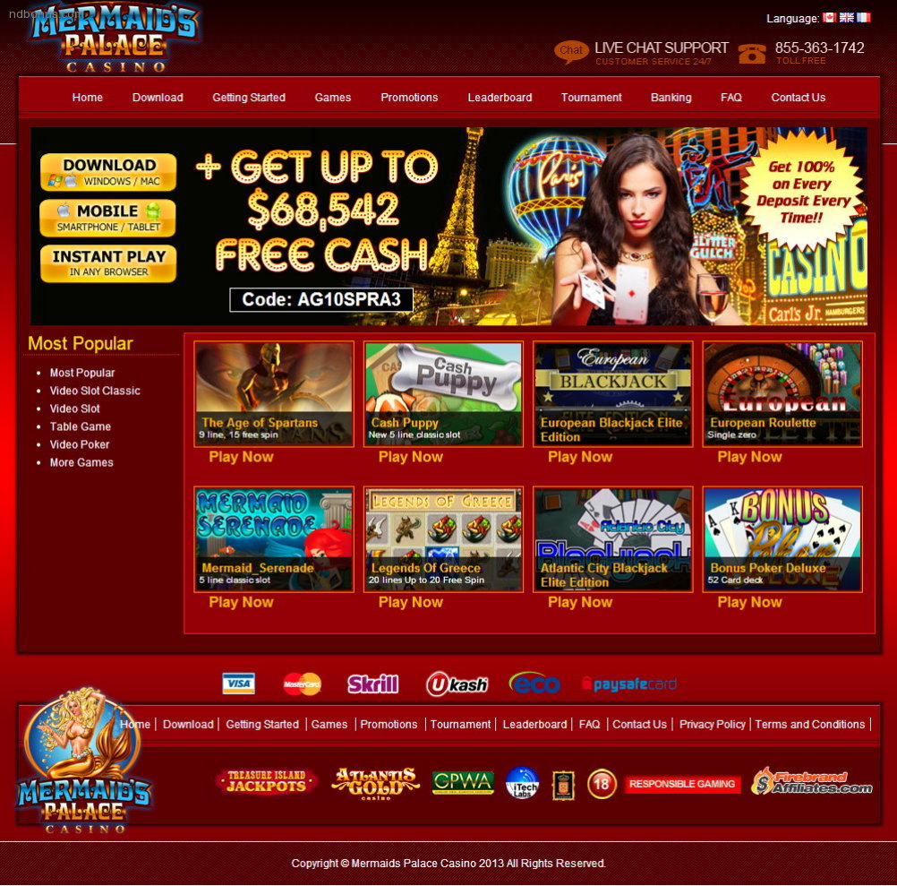 Mermaids Palace Casino